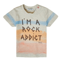 textil Pojkar T-shirts Ikks XS10061-60 Flerfärgad