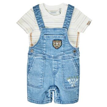 textil Pojkar Uniform Ikks XS37011-84 Blå