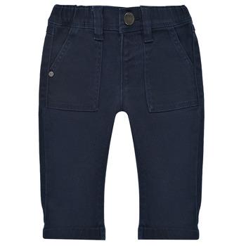 textil Pojkar 5-ficksbyxor Ikks XS29011-48 Marin