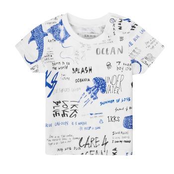 textil Pojkar T-shirts Ikks XS10021-19 Flerfärgad