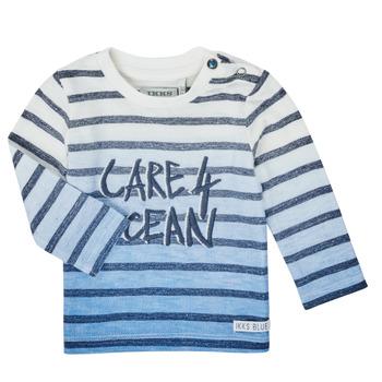 textil Pojkar Långärmade T-shirts Ikks XS10001-19 Flerfärgad