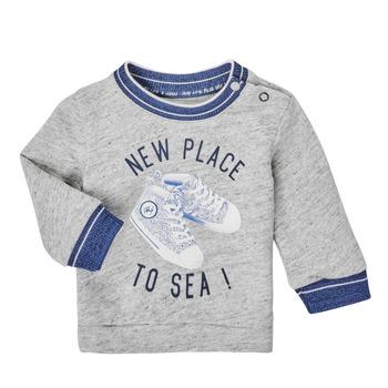 textil Pojkar Sweatshirts Ikks XS15001-24 Grå