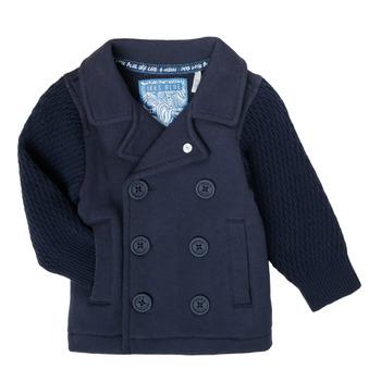 textil Pojkar Koftor / Cardigans / Västar Ikks XS17001-48 Marin