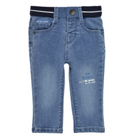 textil Pojkar Stuprörsjeans Ikks XS29001-83 Blå