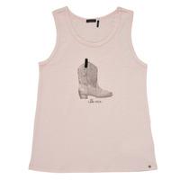 textil Flickor Linnen / Ärmlösa T-shirts Ikks XS10302-31-J Rosa