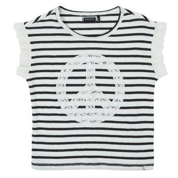 textil Flickor T-shirts Ikks XS10022-19-C Flerfärgad