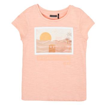 textil Flickor T-shirts Ikks XS10332-32-C Rosa