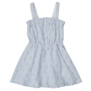 textil Flickor Korta klänningar Ikks XS31022-48-C Blå