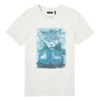 textil Pojkar T-shirts Ikks XS10183-22-C Vit