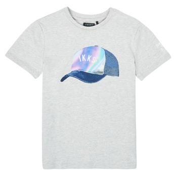 textil Pojkar T-shirts Ikks XS10073-24-C Grå
