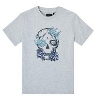 textil Pojkar T-shirts Ikks XS10243-21-C Grå