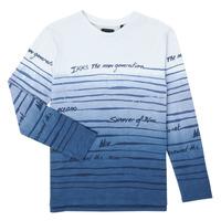 textil Pojkar Långärmade T-shirts Ikks XS10003-19-C Flerfärgad