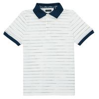 textil Pojkar Kortärmade pikétröjor Ikks XS11003-19-C Flerfärgad