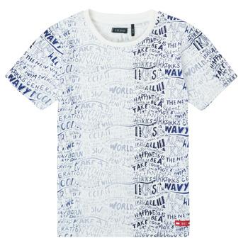 textil Pojkar T-shirts Ikks XS10063-19-C Flerfärgad