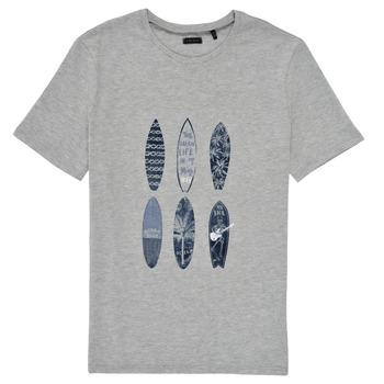textil Pojkar T-shirts Ikks XS10363-24-J Grå