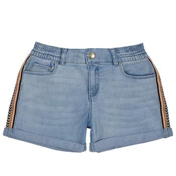 textil Flickor Shorts / Bermudas Ikks XS26002-84-J Blå