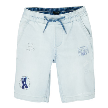 textil Pojkar Shorts / Bermudas Ikks XS25223-82-J Blå