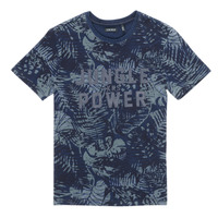 textil Pojkar T-shirts Ikks XS10153-46-J Marin
