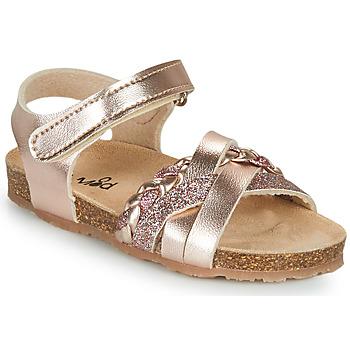 Skor Flickor Sandaler Mod'8 KOENIA Rosa / Guld