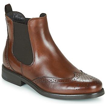 Skor Dam Boots Betty London JOSTA Brun