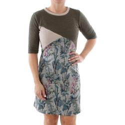textil Dam Korta klänningar Smash MARBELLA DRESS ARMY 38 Verde
