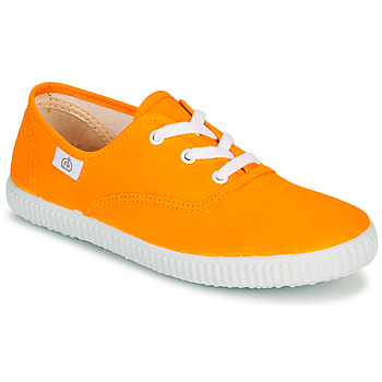 Skor Barn Sneakers Citrouille et Compagnie KIPPI BOU Gul