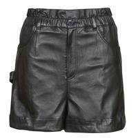 textil Dam Shorts / Bermudas Oakwood JANNY Svart