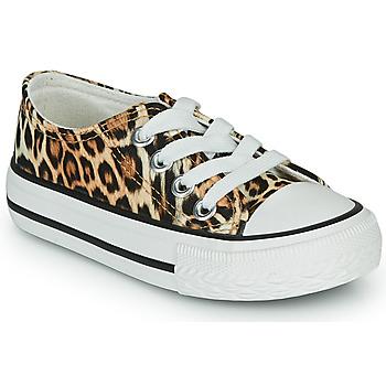 Skor Flickor Sneakers Citrouille et Compagnie OTAL Leopard