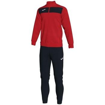 textil Herr Sweatshirts Joma Academy Ii träningsoverall - röd-svart Röd
