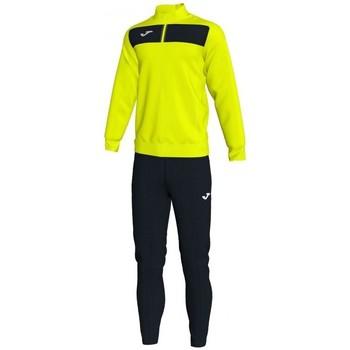 textil Herr Sweatshirts Joma Academy Ii träningsoverall - gul-svart Gul