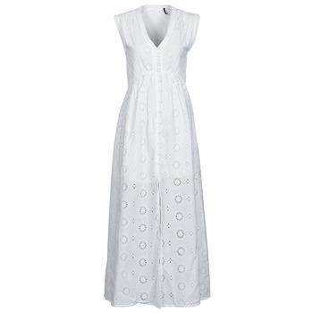 textil Dam Långklänningar Les Petites Bombes BRIDIE Vit