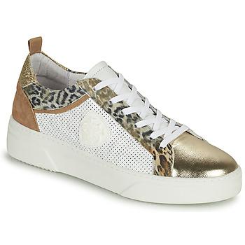 Skor Dam Sneakers Philippe Morvan SOAPY V3 Vit / Brun