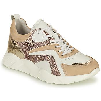 Skor Dam Sneakers Philippe Morvan VOOX V1 Vit / Beige