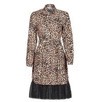 textil Dam Korta klänningar Liu Jo WA1218-T9147-T9680 Leopard