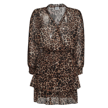 textil Dam Korta klänningar Liu Jo WA1530-T5059-T9680 Leopard
