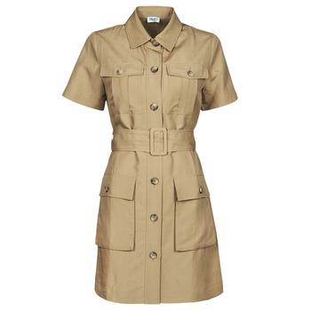 textil Dam Korta klänningar Liu Jo WA1301-T4818-X0365 Beige