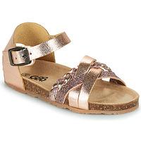 Skor Flickor Sandaler GBB ALECTA Rosa / Guld