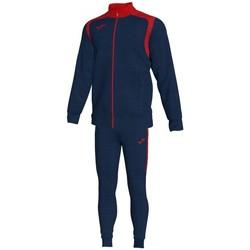 textil Herr Sportoverall Joma Championship V Blue Marine-Red träningsoverall Blå
