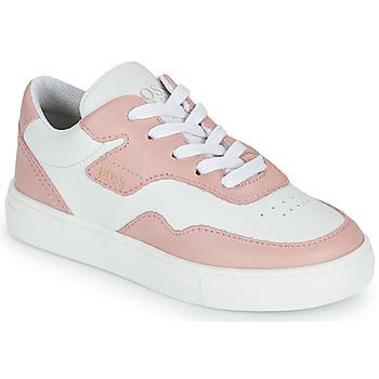 Skor Flickor Sneakers BOSS PAOLA Vit / Rosa