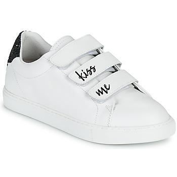 Skor Dam Sneakers Bons baisers de Paname EDITH KISS ME Vit