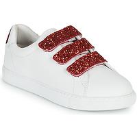 Skor Dam Sneakers Bons baisers de Paname EDITH BACK LIPS Vit