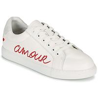 Skor Dam Sneakers Bons baisers de Paname SIMONE AMOUR Vit