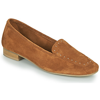 Skor Dam Loafers Betty London ORIETTE Cognac