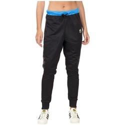 textil Dam Joggingbyxor adidas Originals Loose Pants Svarta, Blå