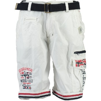 textil Pojkar Shorts / Bermudas Geographical Norway PACOME Vit