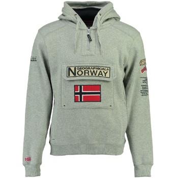 textil Pojkar Sweatshirts Geographical Norway GYMCLASS Grå
