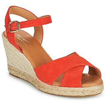 Skor Dam Sandaler Minelli OMELLA Röd