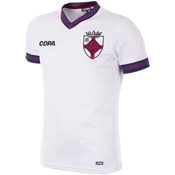 textil Herr T-shirts Copa Football Maillot Copa Angleterre blanc