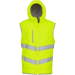 textil Koftor / Cardigans / Västar Yoko Doudoune  Haute Visibilité jaune