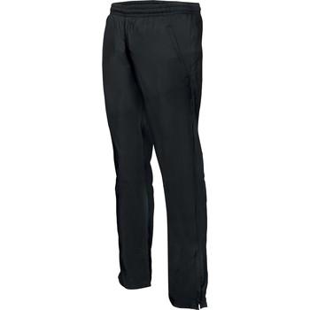 textil Herr Joggingbyxor Proact Pantalon de survêtement ajustée noir